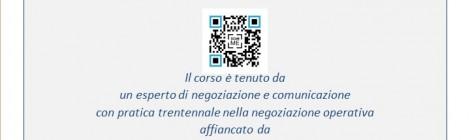 Corso di Tecnica di Negoziazione e Comunicazione Efficace